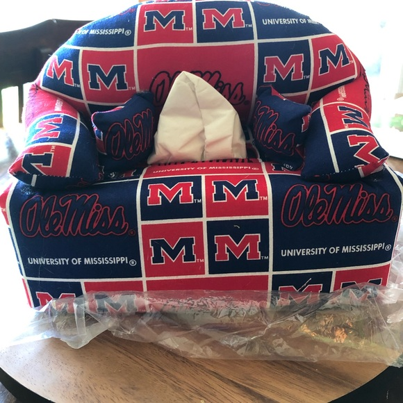 Superb Other Ole Miss Tissue Couch Poshmark Funny Birthday Cards Online Fluifree Goldxyz